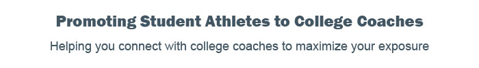 Promoting student athletes to college coaches